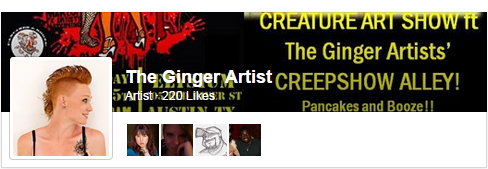 the Ginger Artist