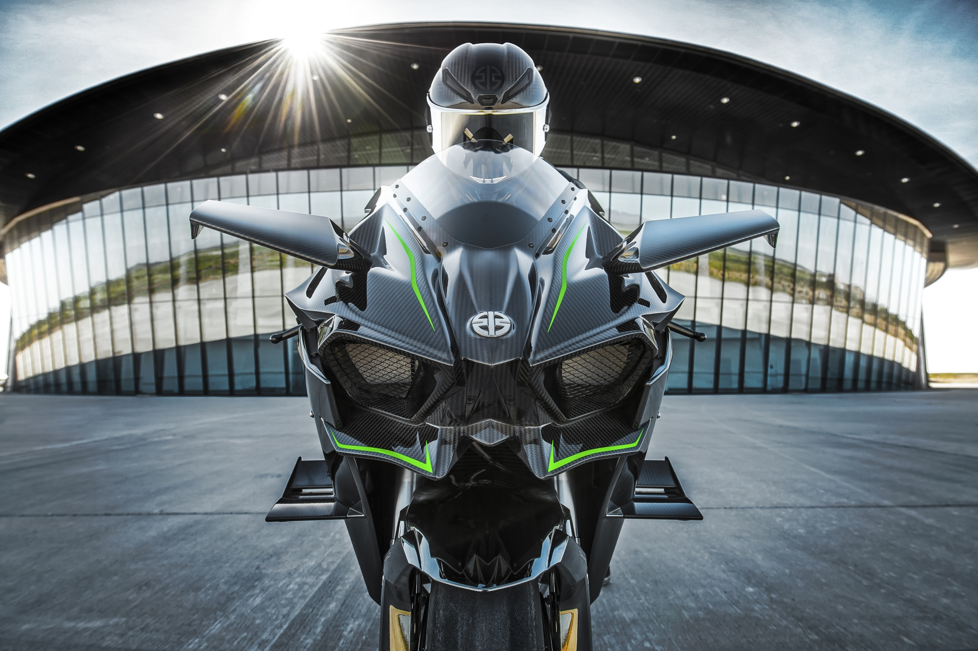 The Kawasaki Ninja H2R Hypersport Motorcycle